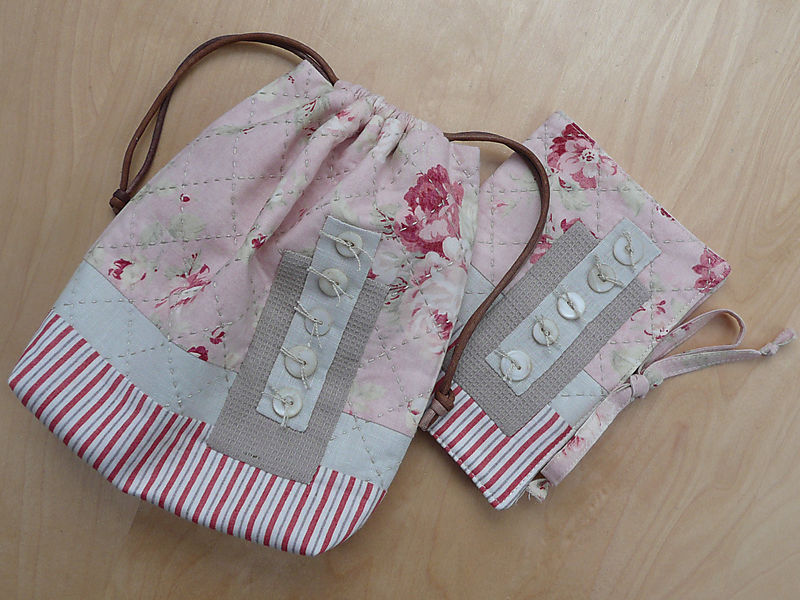 English Garden Sewing Bag & Needlecase