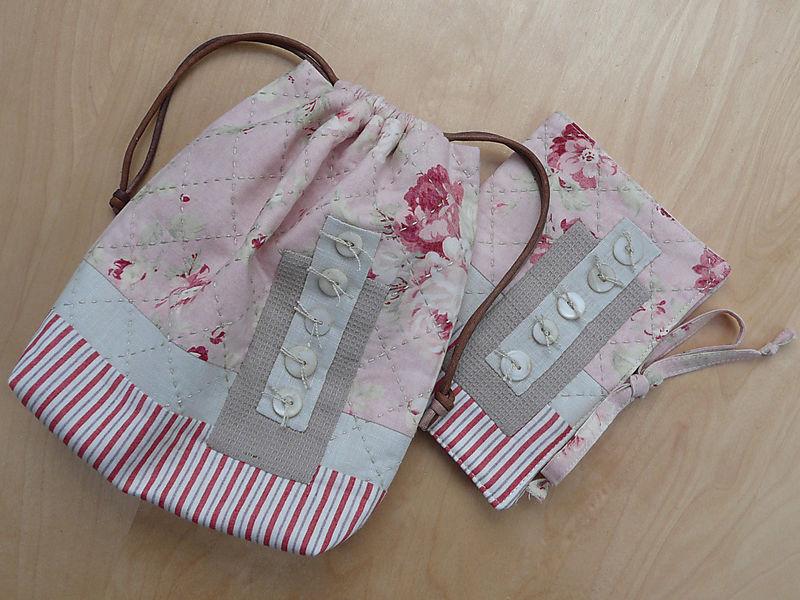 English Garden Sewing Bag & Needlecase