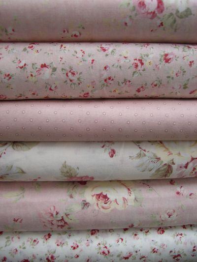 Pink Pinwheel Fabrics