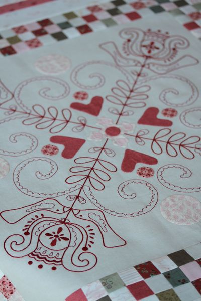 Linen Quilt #3