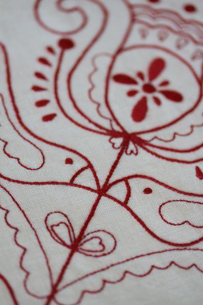 Linen Quilt #1