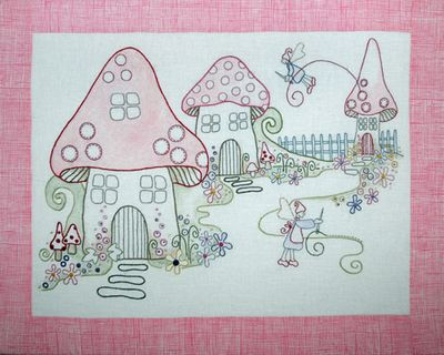 R192 -  - Stitching Fairies - Colour - [100]