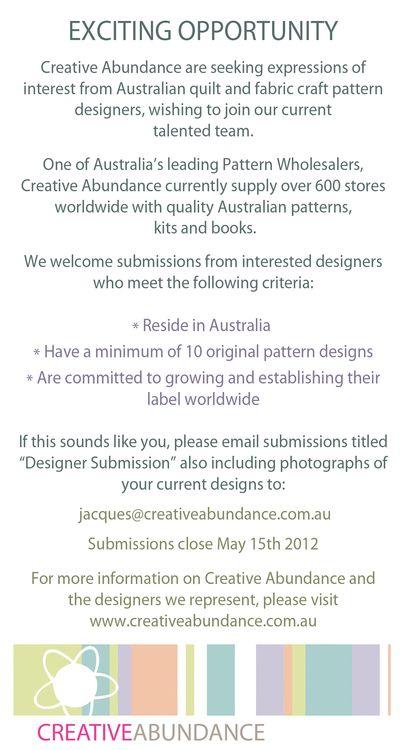 CA Designer Advert