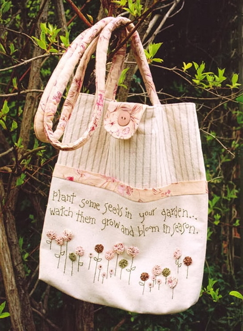 Plant some seeds carry bag