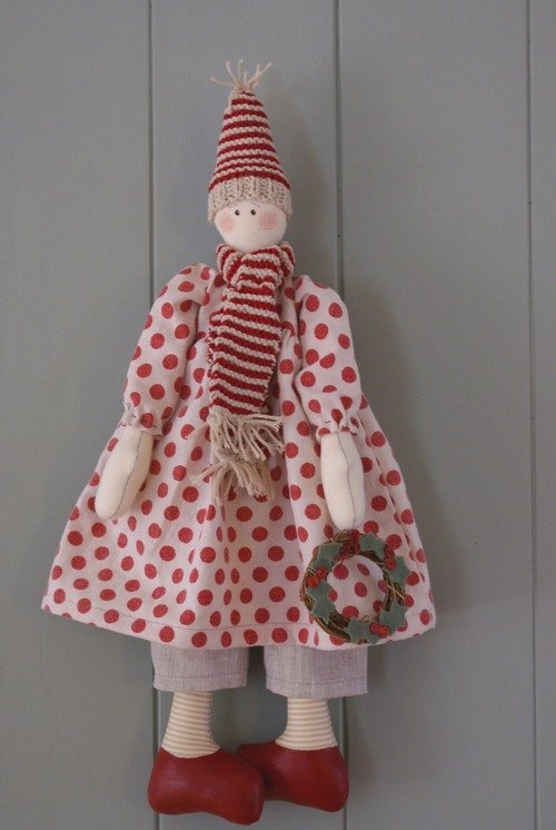 Yuletide doll